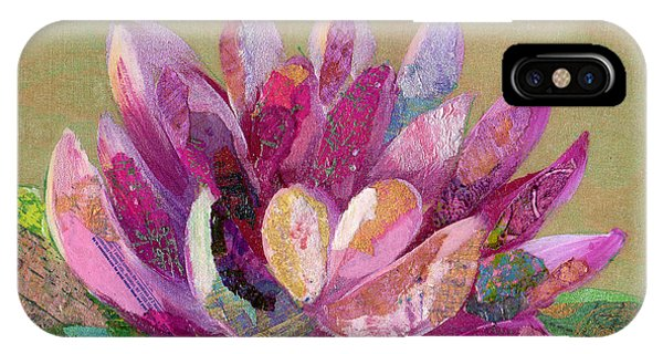 iPhone Case - Lotus Series II - 4 by Shadia Derbyshire