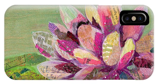 iPhone Case - Lotus Series II - 5 by Shadia Derbyshire