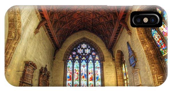 Loughborough Church - Altar Vertorama IPhone Case