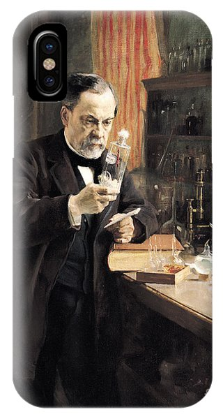 Louis Pasteur IPhone Case