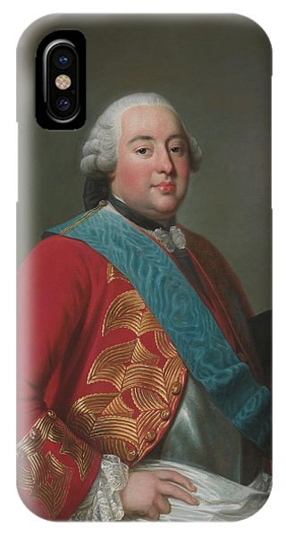 Swedish Painters iPhone Case - Louis Philippe D'orleans As Duke Of Orleans by Alexander Roslin