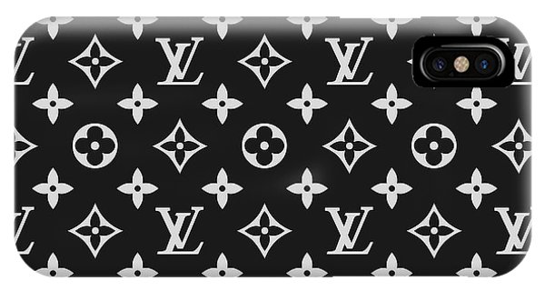 Logo iPhone Case - Louis Vuitton Pattern - Lv Pattern 06 - Fashion And Lifestyle by TUSCAN Afternoon