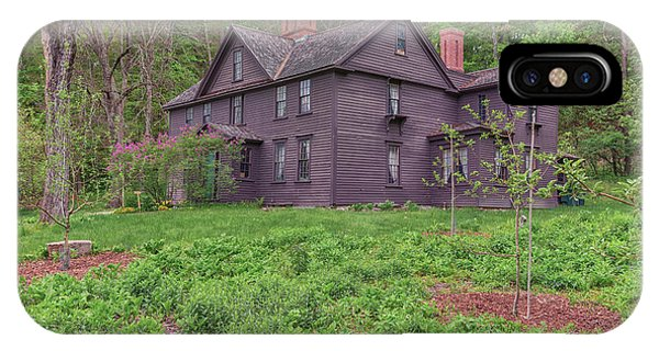 Louisa May Alcotts Orchard House Concord Massachusetts IPhone Case