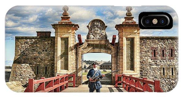 Louisbourg Fortress, Nova Scotia IPhone Case