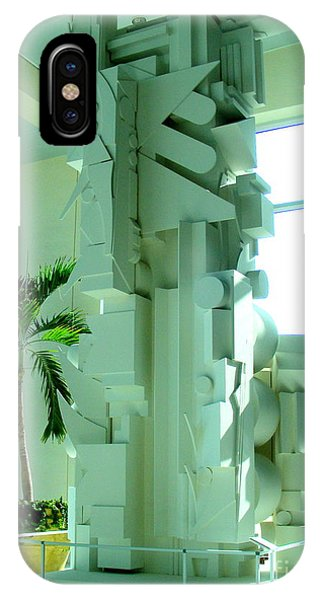 Louise Nevelson Sculpture IPhone Case