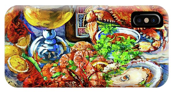 Food And Beverage iPhone Case - Louisiana 4 Seasons by Dianne Parks