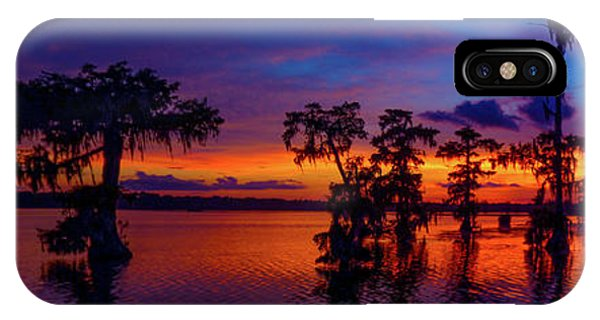 Louisiana Blue Salute Reprise IPhone Case