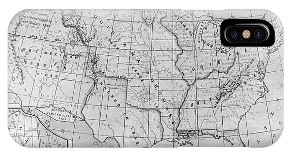 Louisiana Purchase Map IPhone Case