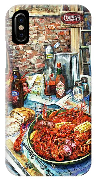 Amber iPhone Case - Louisiana Saturday Night by Dianne Parks