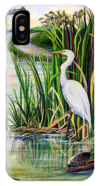 Louisiana Wetlands IPhone Case