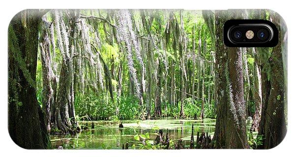 Louisiana Swamp IPhone Case