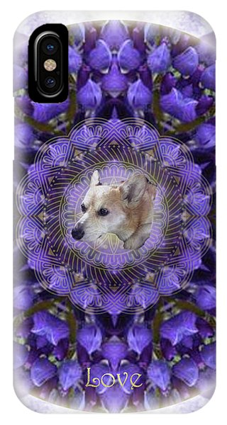 iPhone Case - Lounging In The Lupines by Alicia Kent
