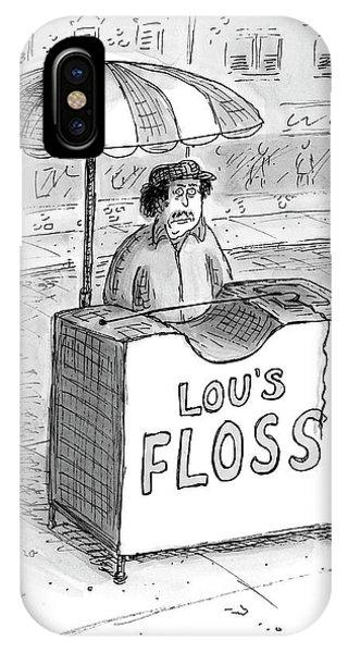 Lous Floss IPhone Case