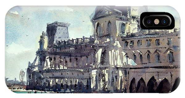 The Louvre iPhone Case - Louvre 1 by James Nyika
