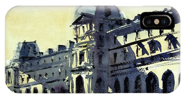 The Louvre iPhone Case - Louvre 2 by James Nyika