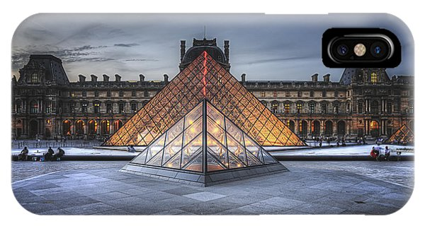 Louvre At Dusk IPhone Case