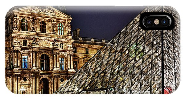 Louvre By Night I IPhone Case