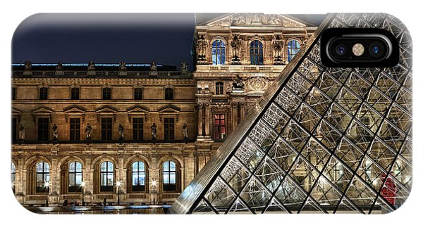 Louvre By Night II IPhone Case