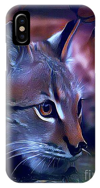 Lovable Feline IPhone Case