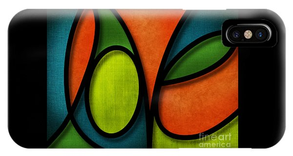 iPhone Case - Love - Abstract by Shevon Johnson