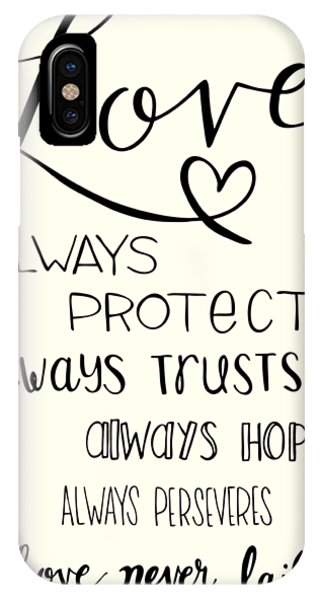 1 iPhone Case - Love Always by Nancy Ingersoll