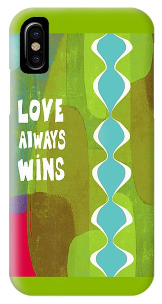 Love Always Wins IPhone Case