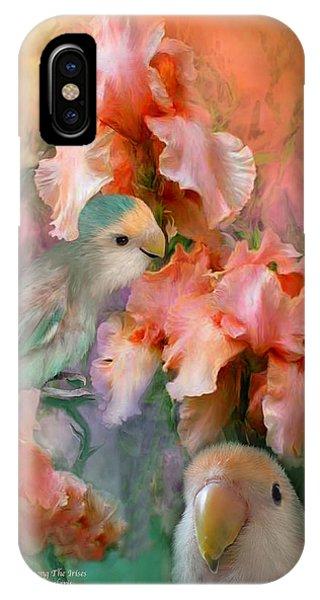 Love Among The Irises IPhone Case