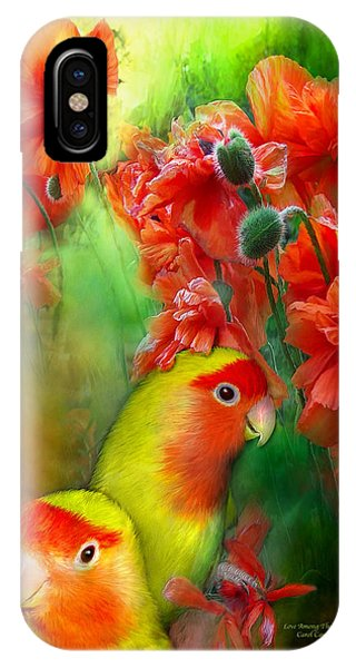 Love Among The Poppies IPhone Case