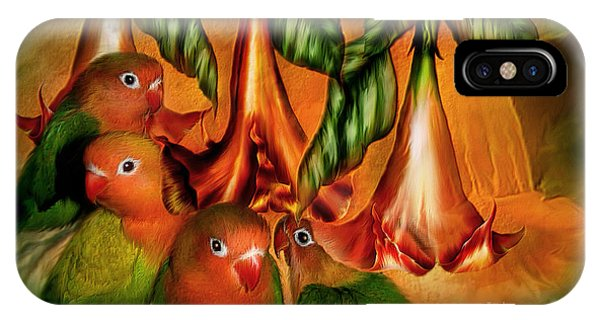 Love Among The Trumpets IPhone Case