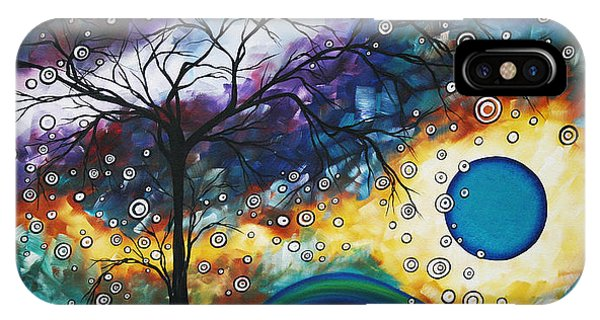 Amber iPhone Case - Love And Laughter By Madart by Megan Duncanson