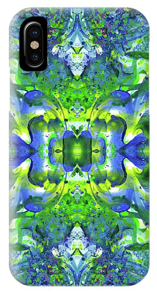 Spirituality iPhone Case -  Love And Protect Our Living Gaia #1518 by Rainbow Artist Orlando L