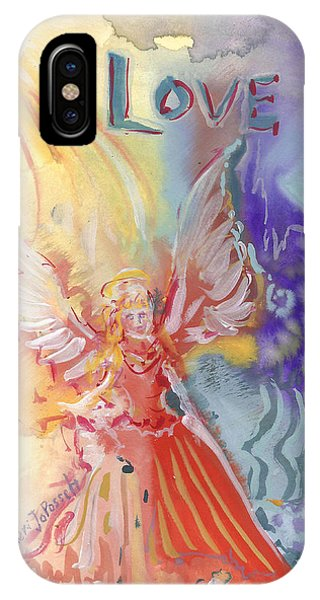 Love Angel IPhone Case