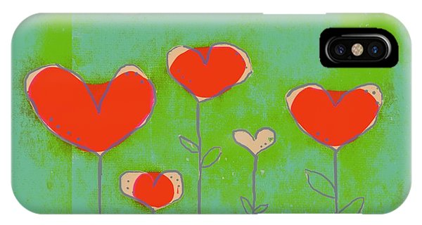Aqua iPhone Case - Love Art - 177abc by Variance Collections