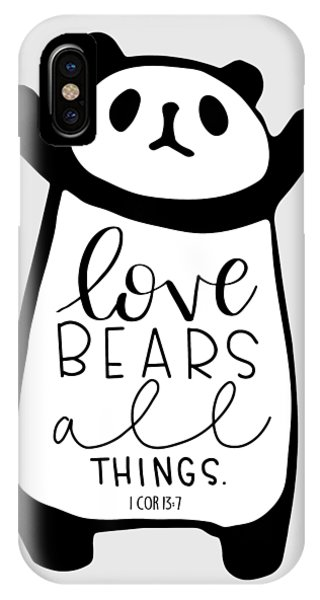 Love Bears All Things IPhone Case