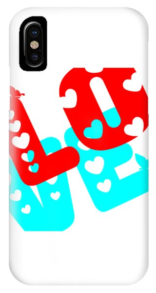 IPhone Case featuring the digital art Love by Bee-Bee Deigner