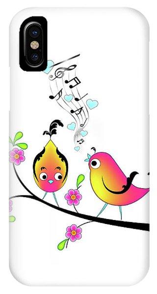 Love Bird Serenade IPhone Case