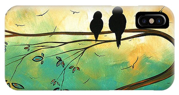 Love Birds By Madart IPhone Case