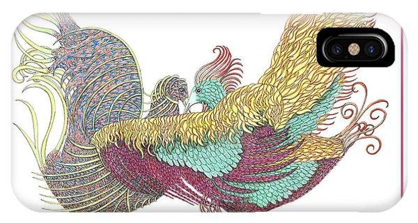 Love Birds Dancing IPhone Case