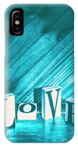 Developed iPhone Case - Love Blues by Jorgo Photography - Wall Art Gallery