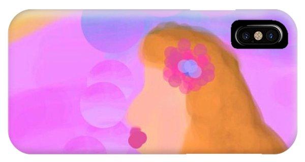 The Art Of Gandy iPhone Case - Love Bubbles by Joan Ellen Gandy