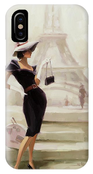 France iPhone Case - Love, From Paris by Steve Henderson