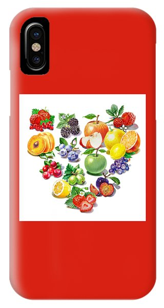 Grapefruit iPhone Case - Love Fruits And Berries by Irina Sztukowski