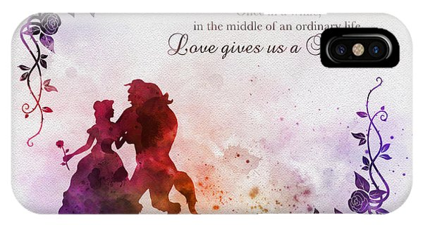 Fairy iPhone Case - Love Gives Us A Fairytale by My Inspiration
