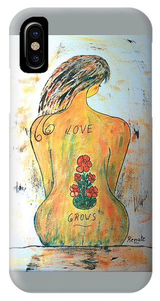 Love Grows.... IPhone Case