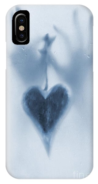Close Up Floral iPhone Case - Love Heart by Svetlana Sewell