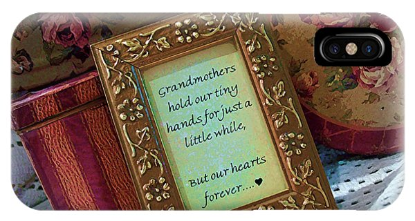 Love Holds Our Hearts Forever IPhone Case