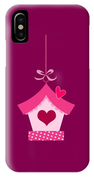 Love House T-shirt IPhone Case