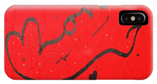 Love In Red By Faraz IPhone Case