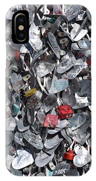 Love Locks On Fremont Street IPhone Case