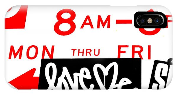 Love Me In Nyc Between 8m And 6pm  IPhone Case